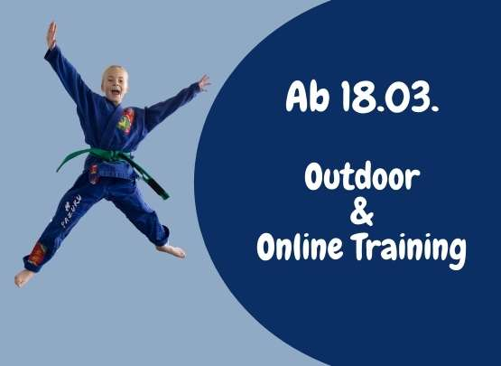 Outdoor & Online-Training ab 18.03.